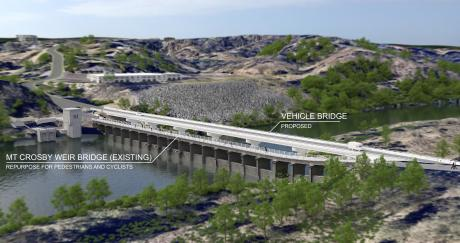 New vehicle bridge - artist impression #2