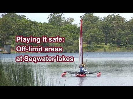 Playing it safe: Off-limit areas at Seqwater lakes