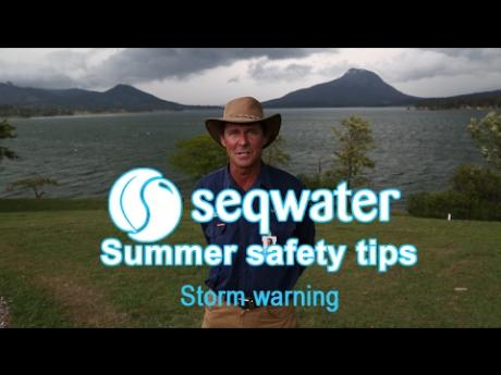Seqwater Summer Safety Tips: Storm Warning