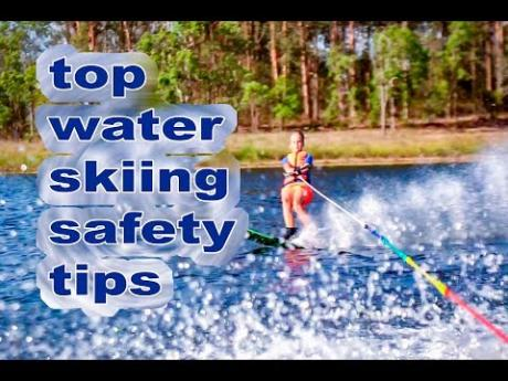 Young water skier shares top safety tips