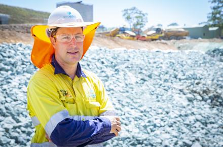 Seqwater project manager for Leslie Harrison Dam upgrade