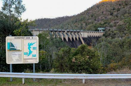 Upgrades to the dam viewing area on Esk-Kilcoy Road are one of the potential legacy projects shortlisted as part of Somerset Dam upgrade