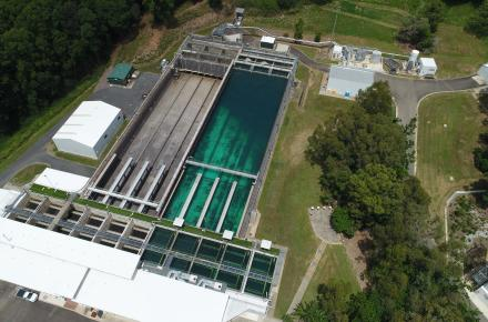 Landers Shute Water Treatment Plant