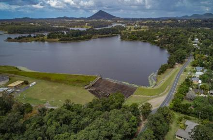 Noosa's Lake Macdonald Dam Upgrade project will be reassessed to ensure prudency while also meeting dam safety, water security, environmental and community objectives