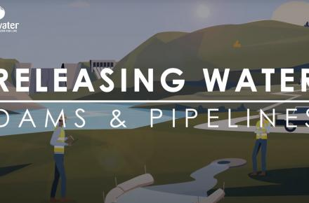 Thumbnail for release of water fact sheet